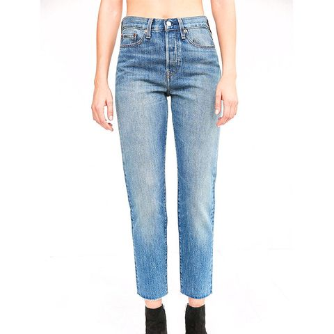Wedgie High-Rise Jeans