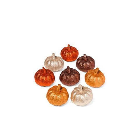 Harvest Glitter Mini-Pumpkins