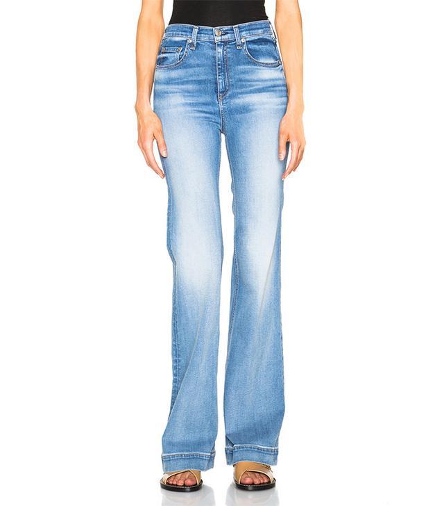 Rag & Bone/JEAN Justine Wide Leg Jeans