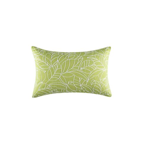 Fauna Rectangle Green Cushion