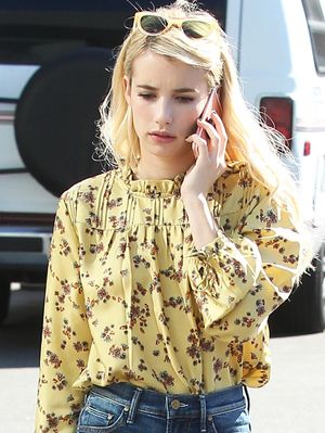 Need a New Top? Emma Roberts Found the Prettiest One