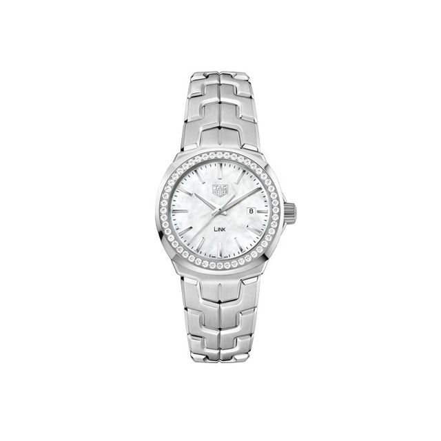 TAG Heuer Stainless Steel Diamond Watch