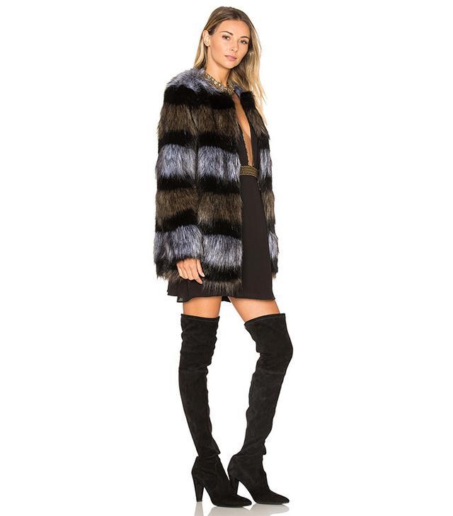 ále by Alessandra x Revolve Antonella faux fur coat