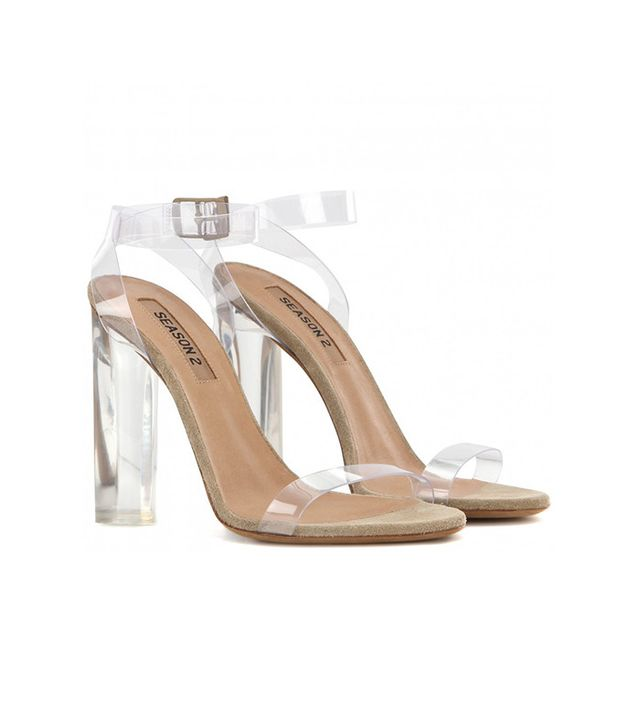 Yeezy Season 2 Transparent Sandals