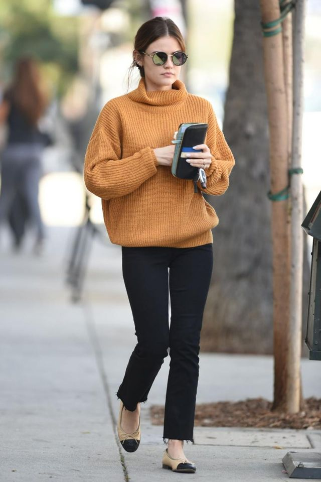 Lucy Hale Lovers + Friends Sweater
