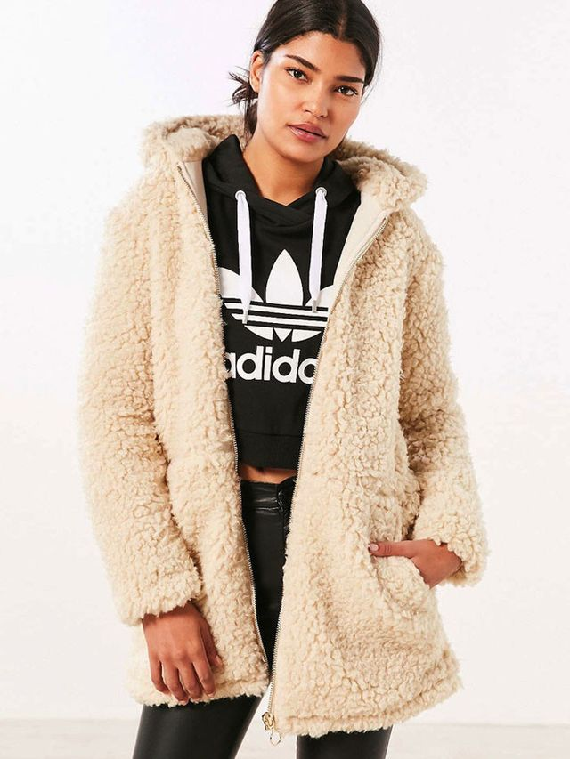 Ecote Ziggy Oversized Sherpa Coat