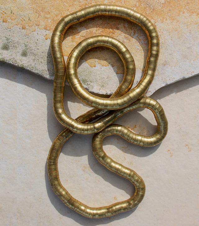 Vintage Flexible Gold Necklace