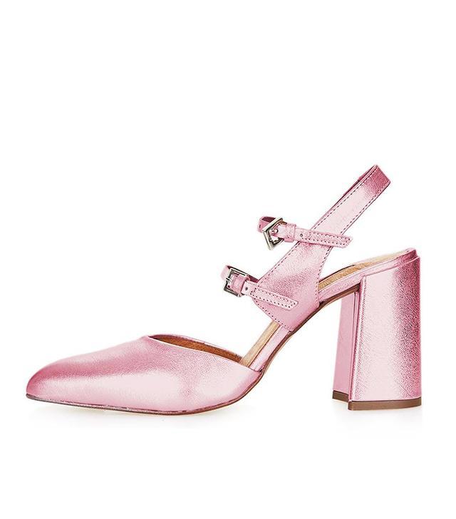 Topshop Glenda Buckle Shoes