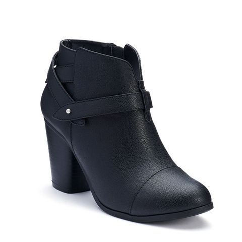 Slit Ankle Boots