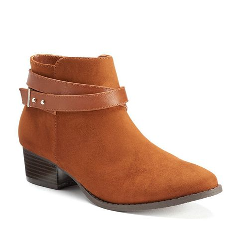 Crisscross Ankle Boots