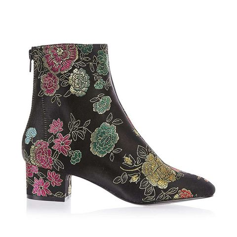 Kobra Embroidered Boots