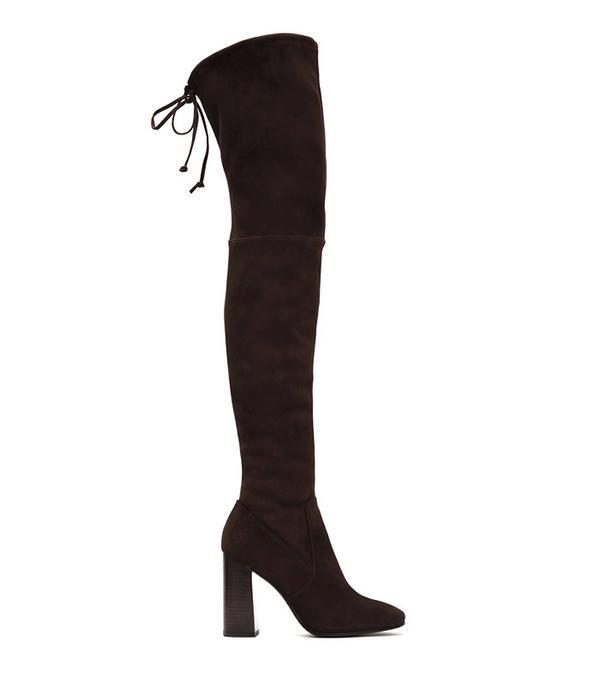 Frye Mina Stretch Thigh Boots