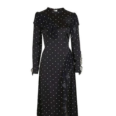 Boutique Polka Deconstructed Dress