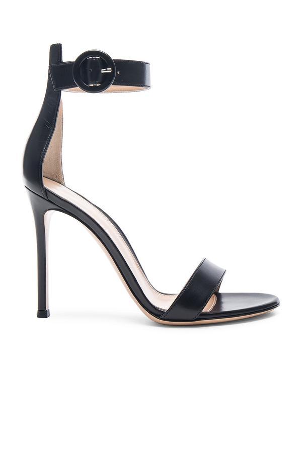 Gianvito Rossi Leather Portofino Heels