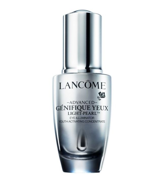 How to prevent concealer from creasing: Lancome Advanced Genifique Eye Serum Light-Pearl
