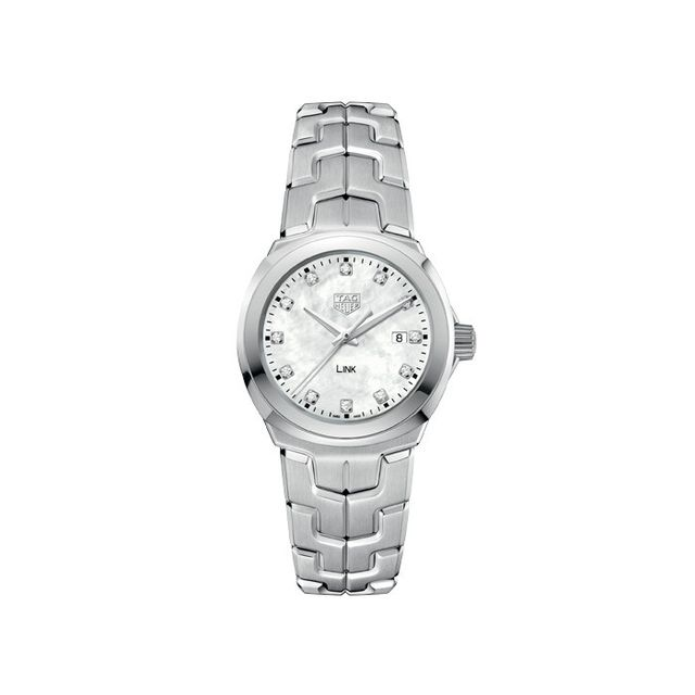 TAG Heuer LINK Lady Stainless Steel Diamond Watch