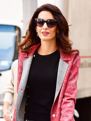 Amal Clooney Joined the Fan Club of This Major Denim Trend
