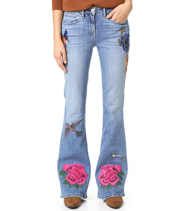 3x1 W25 Bell Embroidery Jeans