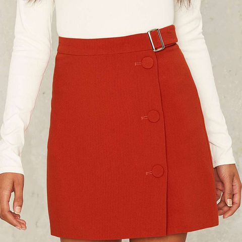 Belt With You Mini Skirt