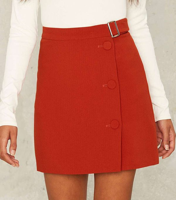 Belt With Your Mini Skirt by Nasty Gal