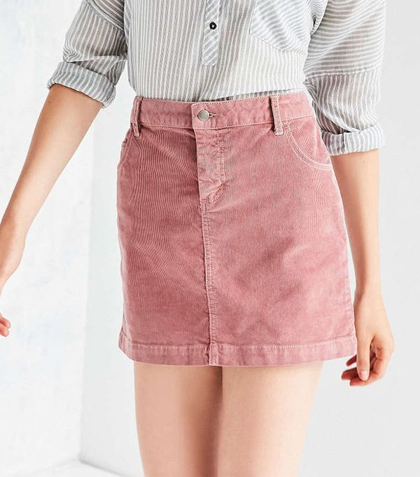 Sybale Corduroy Mini Skirt by BDG