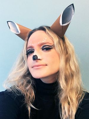 Watch: How to Create Adorable Deer Makeup for Halloween