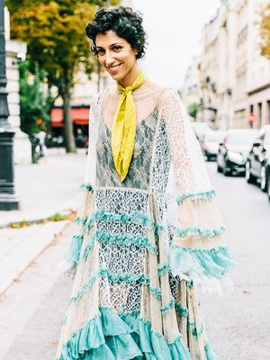 The Coolest Ways to Wear Your Scarf Right Now