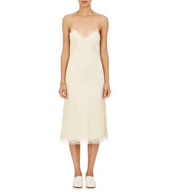 The Row Santi Silk Slip Dress