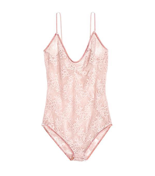 H&M Lace Bodysuit