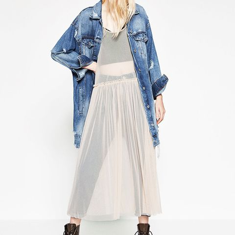 Tulle Sleeveless Dress