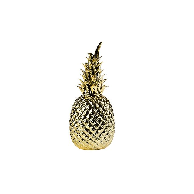 Amara Pineapple in Gold
