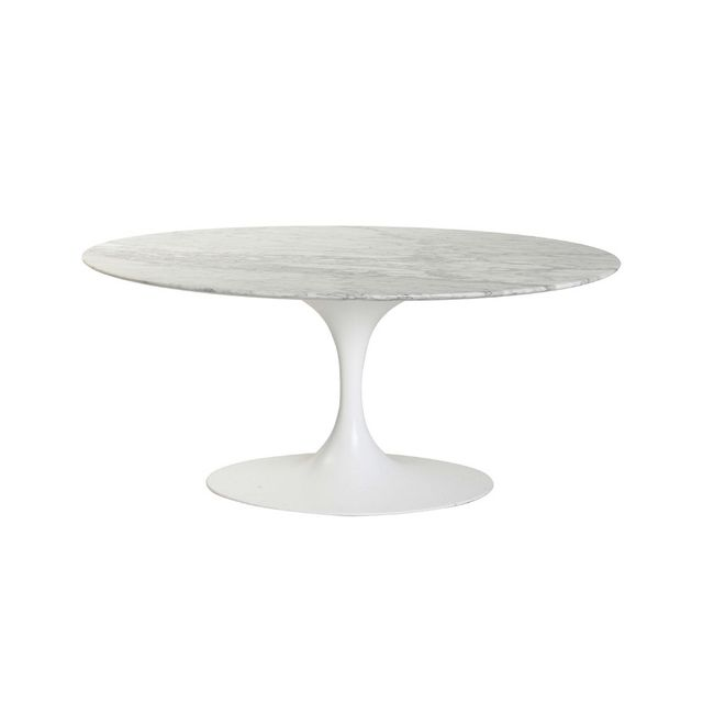 Matt Blatt Relica Eero Saarinen Oval Tulip Coffee Table
