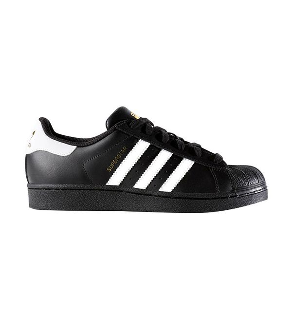 Adidas Originals Black and White Superstar Trainers