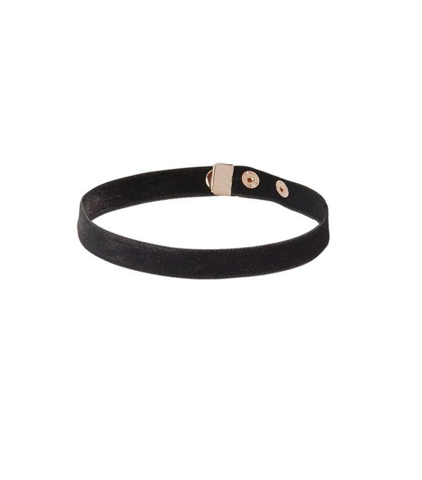 Are You Am I Fina Velvet Choker