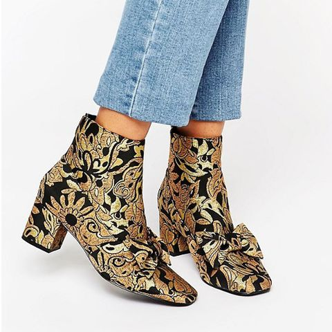 Ryala Bow Ankle Boots