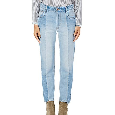 Clancy Notche Crop Jeans