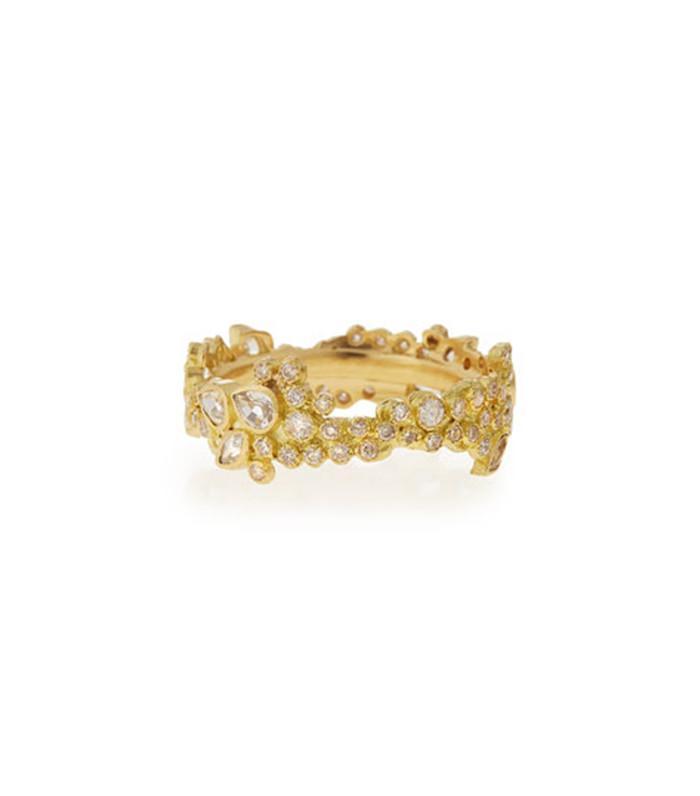 Armenta Sueño Cluster Diamond Stack Ring