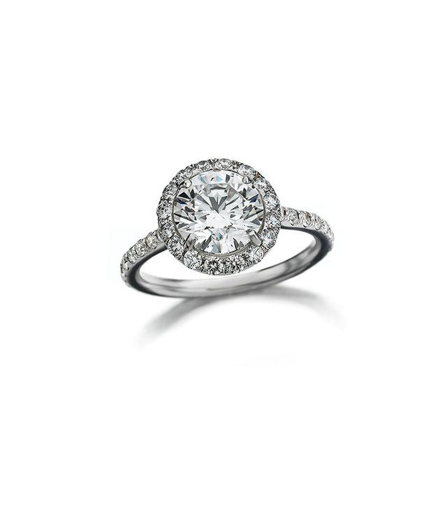 Maria Canale for Forevermark White Gold Ring