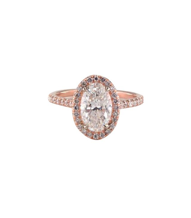 James Allen Oval Engagement Ring