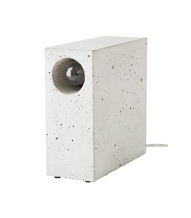 Matthias Kothe for Komat Beton Concrete Desk Lamp