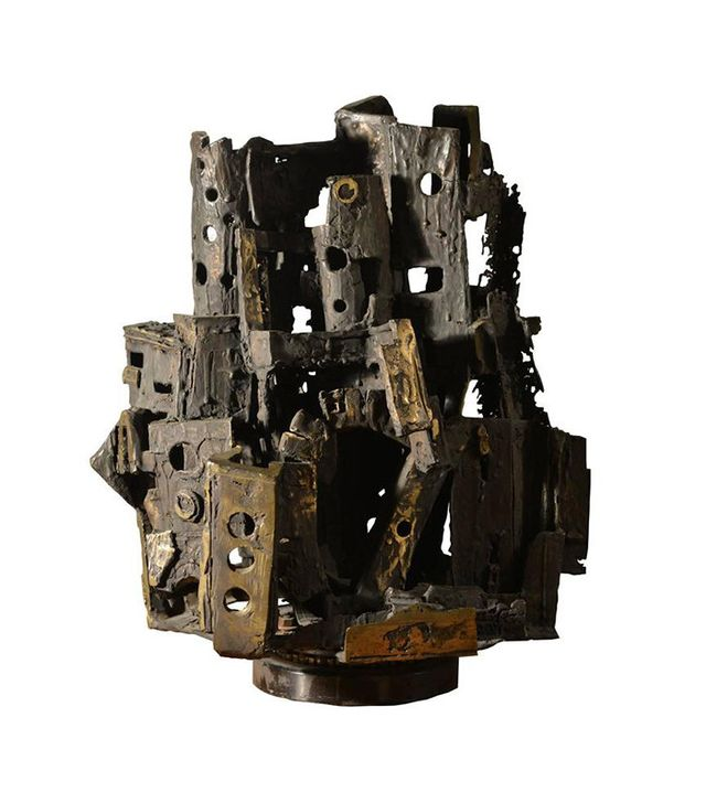 Gino Cortelazzo Italian Brutalist Bronze Sculpture
