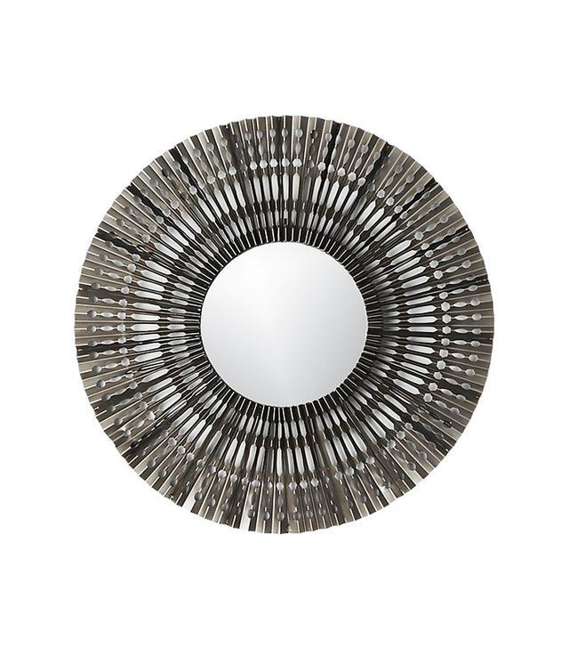 CB2 Folded Metal Wall Mirror