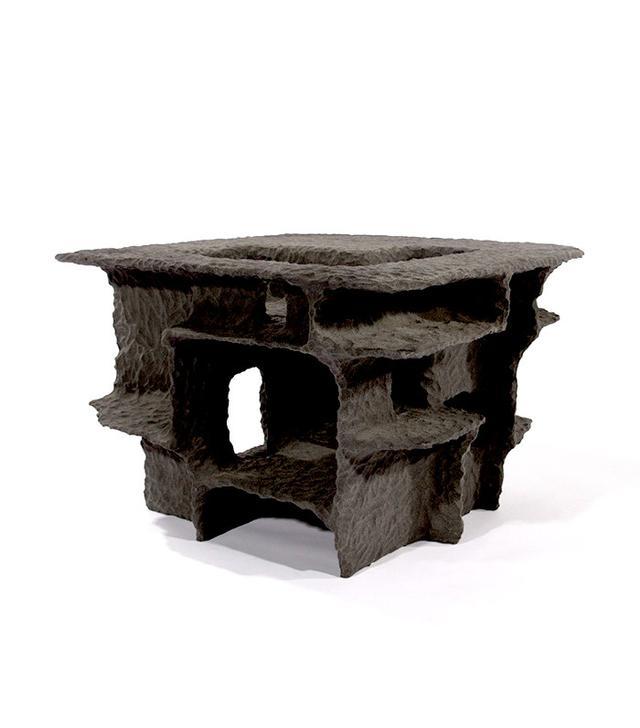Steven Haulenbeek Resin-Bonded Sand Side Table