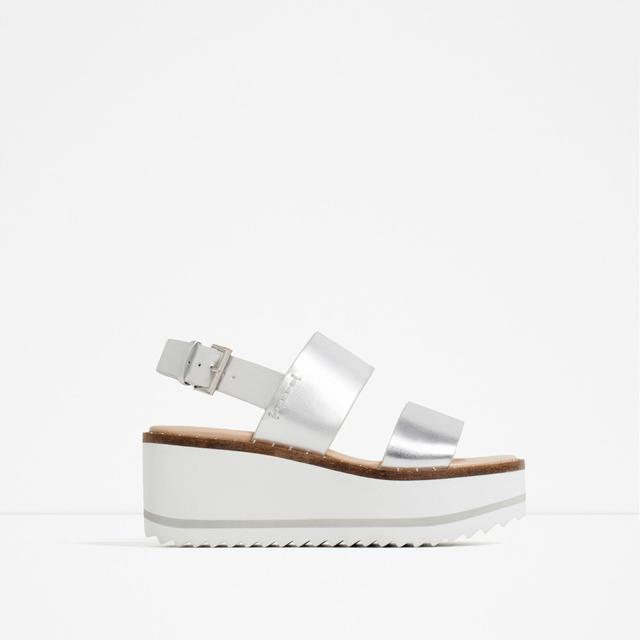 Zara Platform Wedges