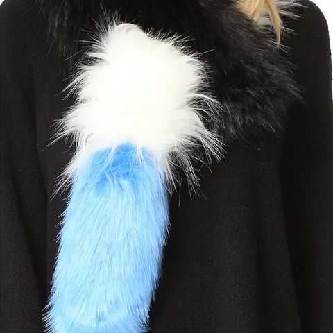 Popsicle Faux Fur Scarf