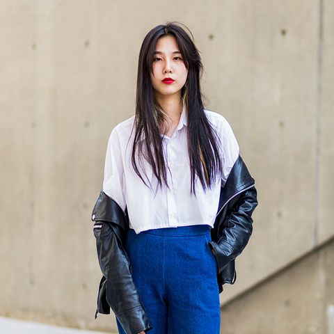Tired of Your Bomber Jacket? Give This Styling Trick a Go