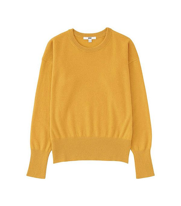 UNIQLO Cashmere Neck Sweater