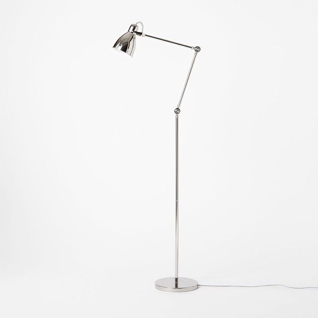 West Elm Industrial Task Floor Lamps