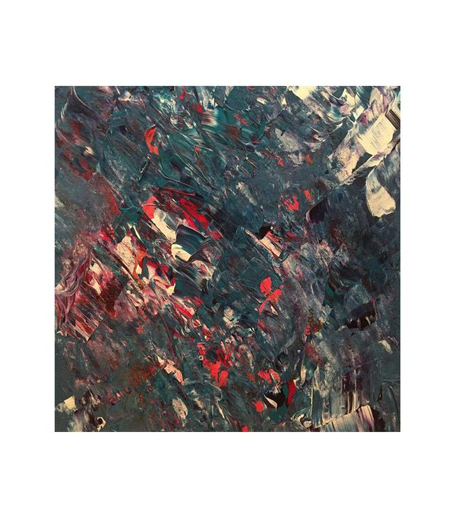 Seasilk Original Abstract Painting