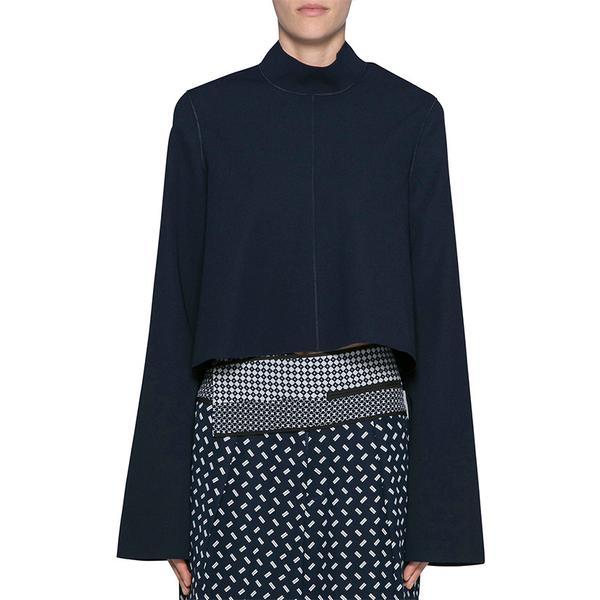 Zara Poplin Striped Tunic